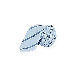 Burton - Pale blue striped tie