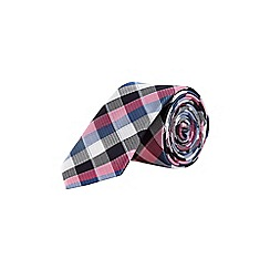 Burton - Large scale checked tie