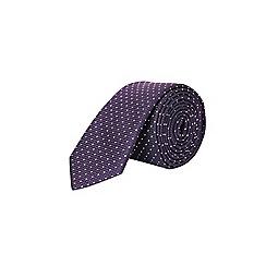 Burton - Purple polka dot tie