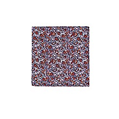 Burton - Pink Ditsy Floral Design Tie And Pocket Square Set
