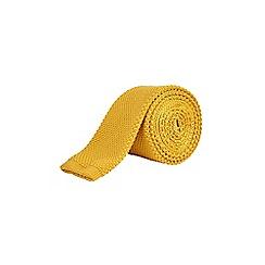 Burton - Yellow knitted tie
