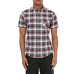 Burton - Short sleevess oxford check shirt