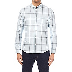 Burton - Light blue long sleeve grindle check shirt