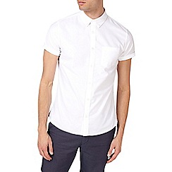 Burton - White short sleeve oxford shirt