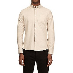 Burton - Stone long sleeve button down collar oxford shirt