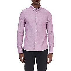 Burton - Rose pink long sleeve oxford shirt