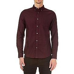 Burton - Berry long sleeve regular oxford shirt