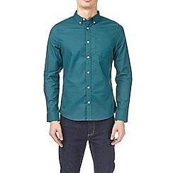 Burton - Emerald long sleeve oxford shirt