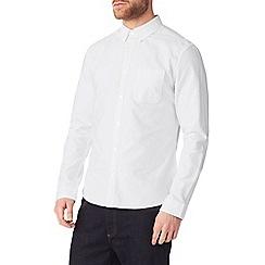 Burton - White long sleeve oxford shirt