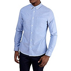 Burton - Light blue long sleeve oxford shirt