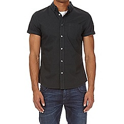 Burton - Green oxford short sleeve shirt