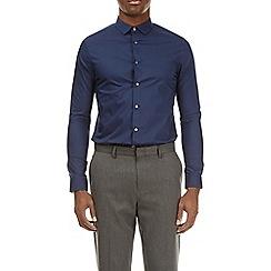 Burton - Navy long sleeve stretch shirt