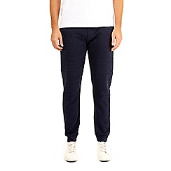 Burton - Navy injection fabric interest joggers