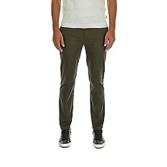 Burton - Khaki slim fit chinos