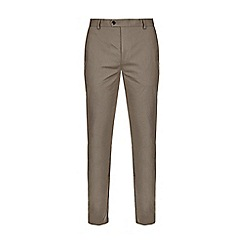 Burton - Grey slim stretch chinos