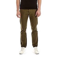 Burton - Mid khaki skinny fit stretch chinos