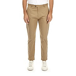 Burton - Natural tapered fit stretch chinos