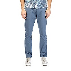 Burton - Denim blue slim fit stretch chinos