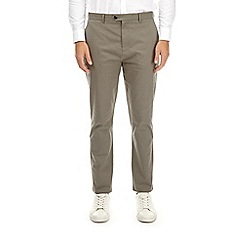 Burton - Grey tapered fit stretch chinos