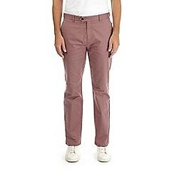 Burton - Dusty pink straight leg stretch chinos