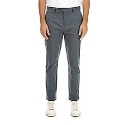 Burton - Slate tapered fit stretch chinos