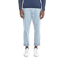 Burton - Light blue lightweight tapered fit chinos