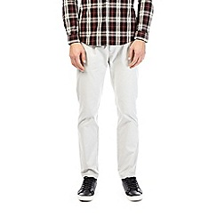 Burton - Light grey slim fit stretch chinos