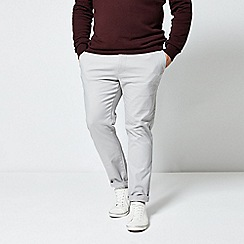 Burton - Light grey skinny fit chinos