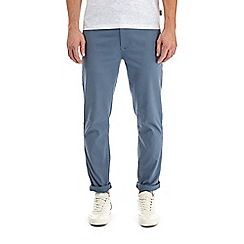 Burton - Denim blue skinny fit stretch chinos