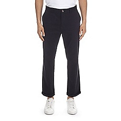 Burton - Black straight fit stretch chinos