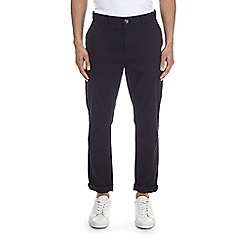 Burton - Black tapered fit stretch chinos