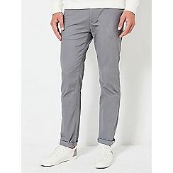 Burton - Mid grey slim fit stretch chinos