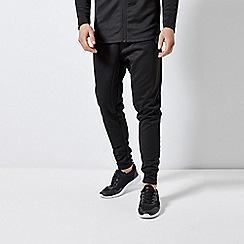 Burton - Black Neoprene Skinny Fit Joggers With HI build Print