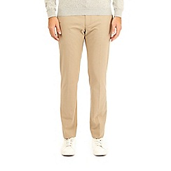 Burton - Camel stretch skinny fit taupe trousers