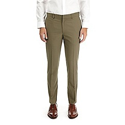 Burton - Olive skinny fit trouser