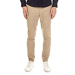 Burton - Taupe super skinny fit stretch trousers