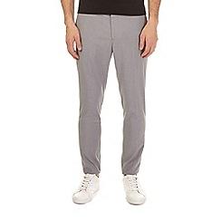 Burton - Light grey super skinny fit stretch trousers
