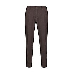 Burton - Grey pinstriped skinny fit trousers