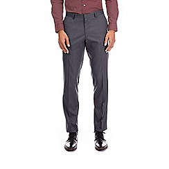 Burton - Charcoal textured skinny fit stretch trousers