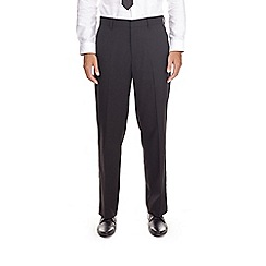 Burton - Black regular fit stretch trousers