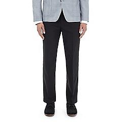 Burton - Black regular fit trousers