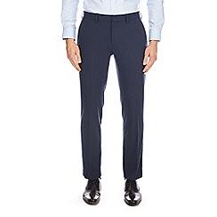 Burton - Blue slim fit stretch trousers