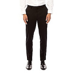 Burton - Black tapered fit jersey trousers