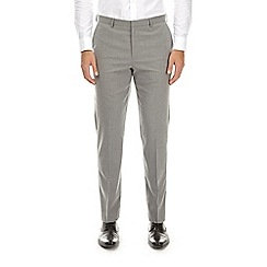 Burton - Ice grey slim fit stretch trousers