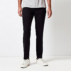 Burton - Black slim fit soft touch trousers