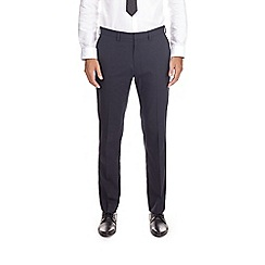 Burton - Navy stretch slim fit trousers