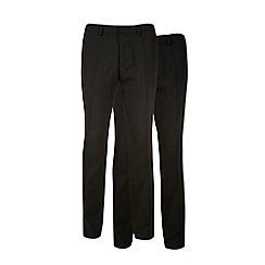 Burton - 2 pack slim fit formal trousers
