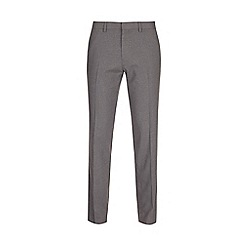 Burton - Light grey stretch slim fit trousers