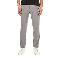 Burton - Light grey slim fit stretch trousers