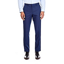 Burton - Royal blue pindot slim fit trousers
